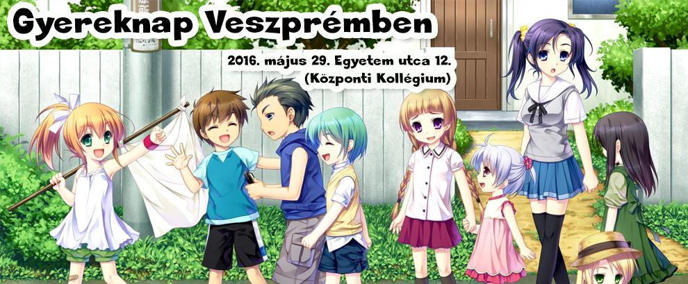 Gyereknapi programok 2016 Veszprém