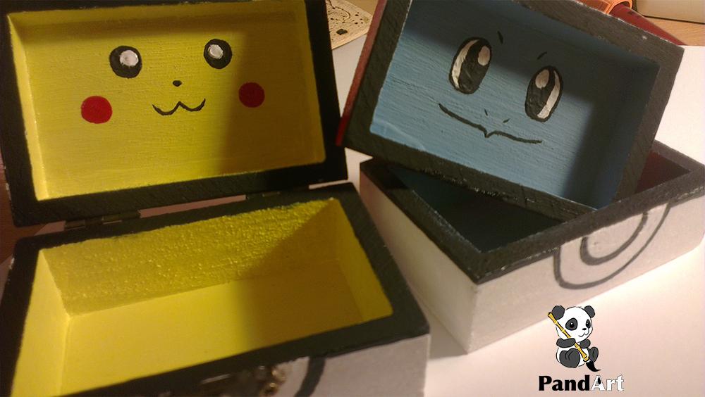 Pikachu doboz, Squirtle doboz