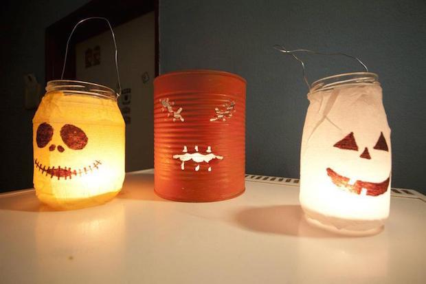Haloween lámpás
