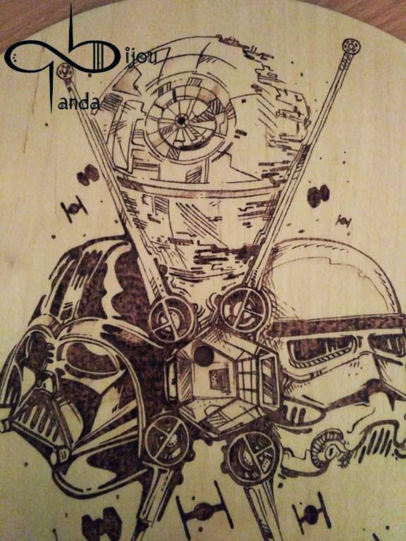 Star Wars sötét oldal óra